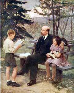 Ленин очень любил детей