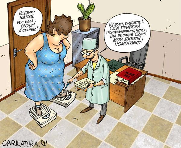 приём у диетолога